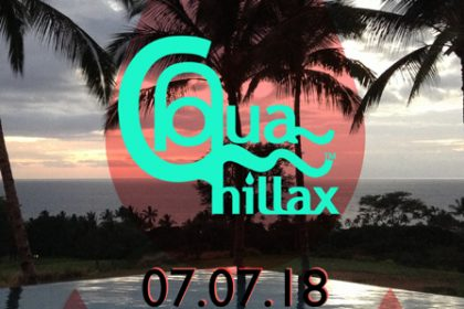 Aqua Chillax Event Flyer July