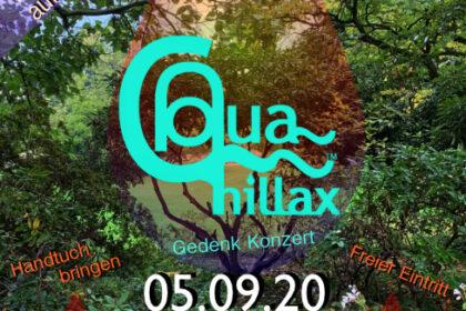 Aqua Chillax im Botanischen Garten